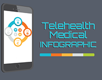 Medical Inforgraphic - Telehealth - with call to action