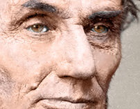 Abraham Lincoln / Photography Colorization