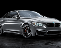 BMW M4 studio render