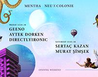 Mentha - Neu x Colonie Cover Design