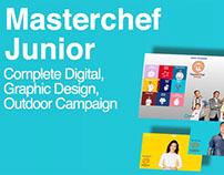 Digital & Outdoor Campaign // MasterChef Junior