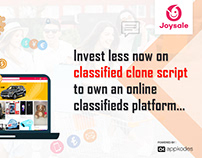 Invest Less Now On Classified Clone Script