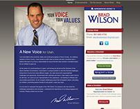 Elect Brad Wilson Website
