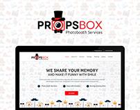Props Box UI/UX Website Design