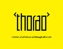 """Thorao""品牌的VI设计"