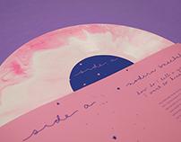 Petal x Modern Baseball Album Design