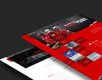 _Metal Craft Website User Interface Design