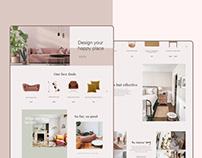 Online shop-website design