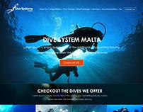 Dive-System-malta-Web-design