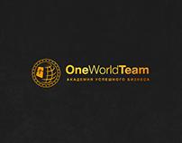 Landing page OneWorldTeam