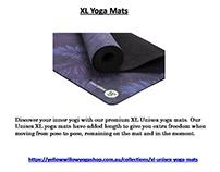 XL Yoga Mats