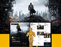 Google Oscars Live - Concept