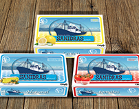"Boite Sardines ""Sanidras"" SIPS4"