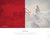 YOU KALI -Logo Brand design