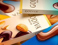 Godiva 3D Renders
