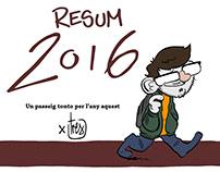 Resumen del 2016 en viñetas