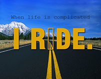 Ride Till I Die - Typography Quotes