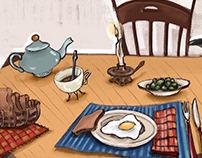 Breakfast / Personal Work - 2019