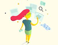 APIS design - ilustrações