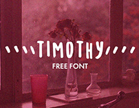 TIMOTHY - FREE QUIRKY HAND DRAWN FONT
