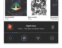 Mobile App // Music Player