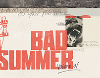 Bad Summer — Cover