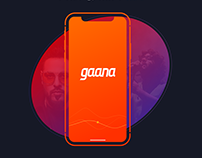 Gaana.com Onboarding