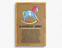 Maifeld Derby – Gigposter