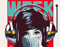 FREE WEEK - Gig Poster - Austin TX