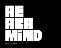 ALI AKA MIND | Stone Lettering