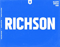 RICHSON DISPLAY FONT