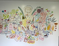 Seven Stories - Mural