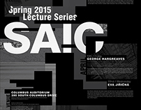 Poster for Architecture Lecture Series   ('15)