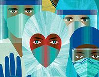 Frontline Doctors cover CA magazine
