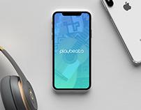 Playbeats Music App Concept