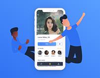 Friends Mobile Application
