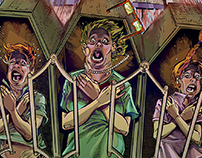 Roller-Coaster Boaster (comic classic terror)