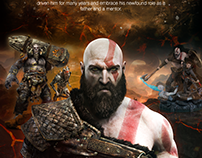 GOD OF WAR - Poster Design