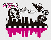 Stencil Design: Rockabilly Rules!