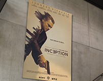 Inception Movie Poster Concept
