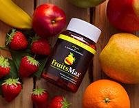 """FruitsMax"" Multivitamins | Mini brochure"