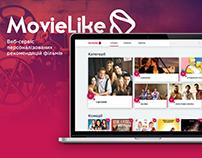 MovieLike - сервіс рекомендацій фільмів