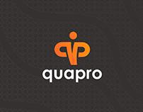 Quapro Logo Design and Brand Identity