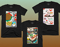 Food Triptych Collection