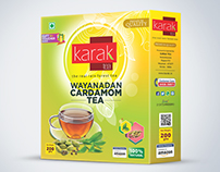 cardamom tea box design