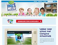 Lekker naar school met Campina Schoolmelk