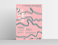POSTER FOR MUSIC COMPETITION Jugend Musiziert