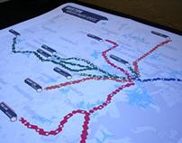 Alternative MBTA Train Map