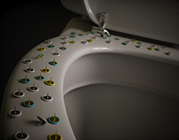 February theme: Interior scene 01 | Toilet bowl