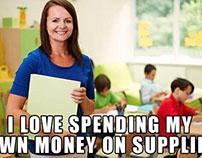Hefty #SaidNoSchoolEver Campaign